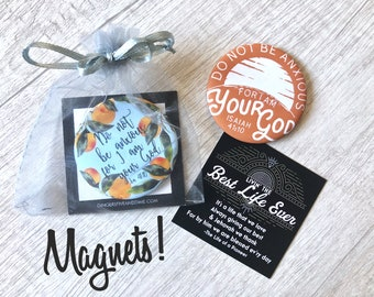 Pioneer Gift Bags Magnets - Gifts JW JW.org 2019 Year Text Do Not Be Anxious