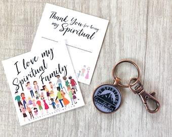 Custom Spiritual Family Key Chain | JW Gifts