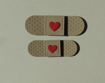Band Aid Bandage Die Cuts