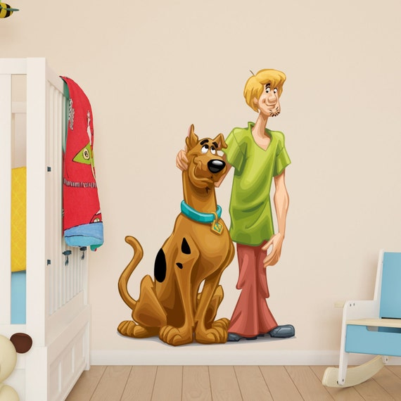 Scooby Doo And Shaggy Wall Sticker Kids Boys Girls Bedroom | Etsy