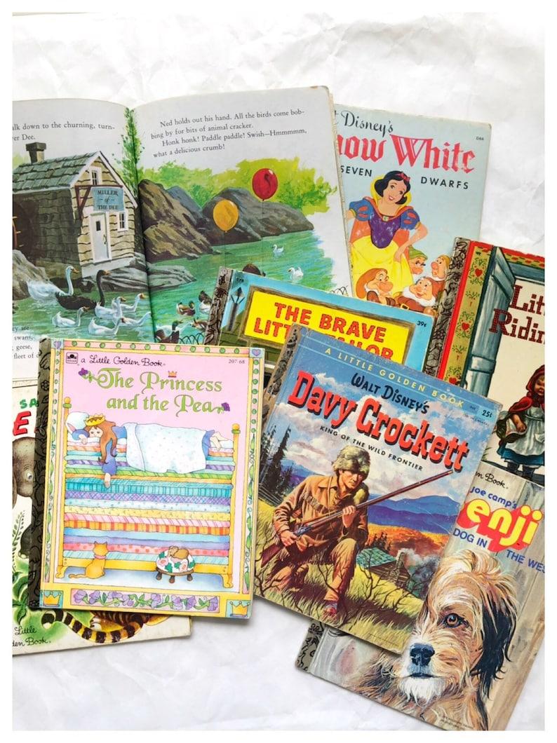 You Choose Little Golden Books Davy Crockett Book Brave Little image 0