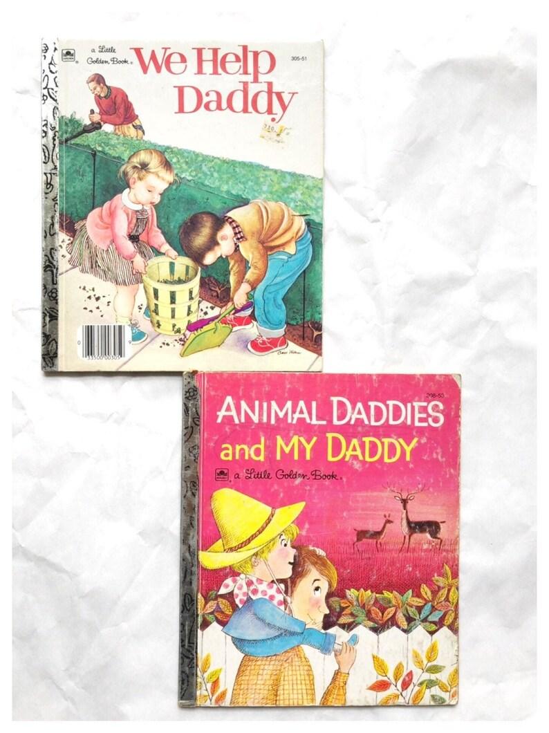Eloise Wilkin Little Golden Book We Help Daddy Book Animal image 0