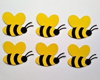 Bumblebee Bee Stickers & Ribbon Embellishment Set