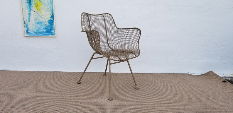 1950s Accent Chairs.1950 S Vintage Russell Woodard Metal Accent Chair