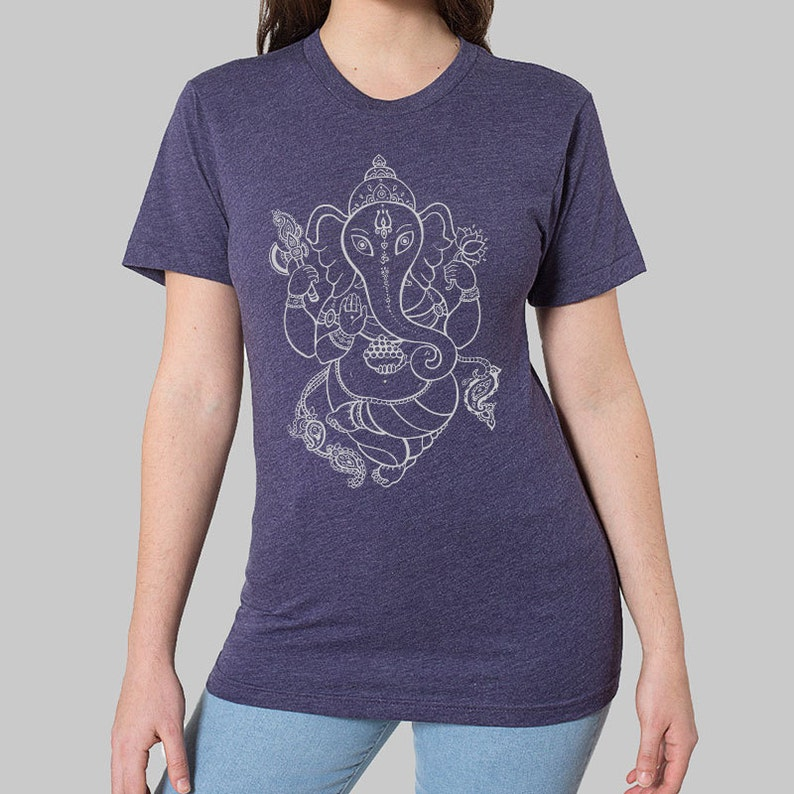 0f264d60f413a4 SALE Womens Unisex Tshirt Ganesh Tees    Plus Size Tops