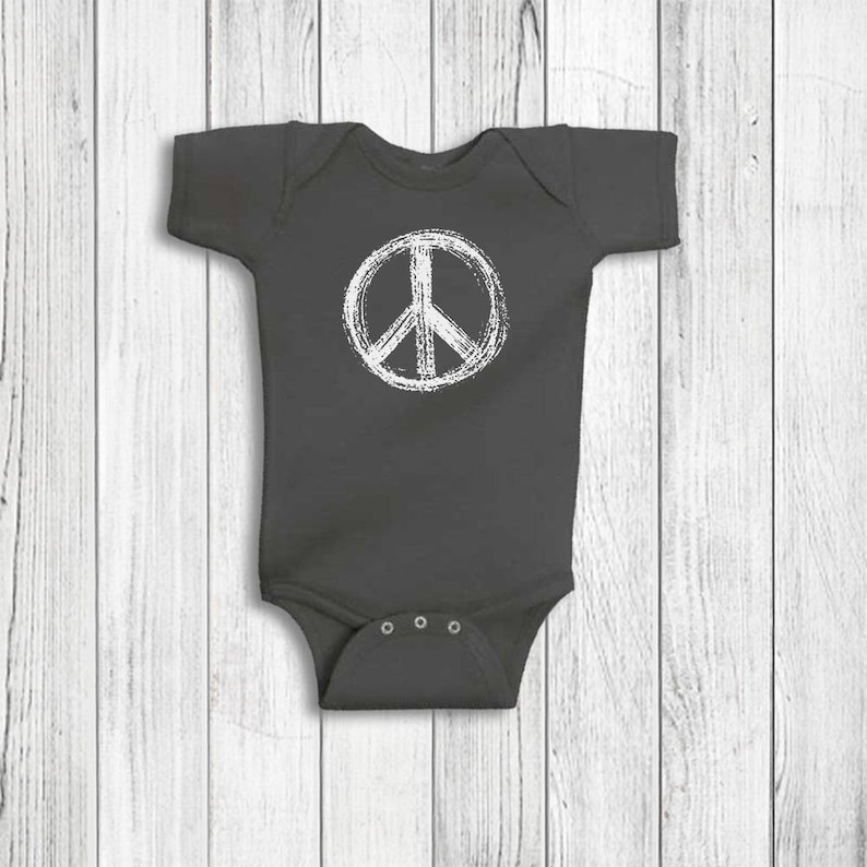 7f48164a59ce1 Baby Boy Clothes Peace Sign Hippie Baby Clothes Infant Boy   Etsy