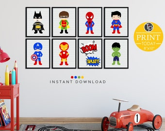 Superhero decor | Etsy