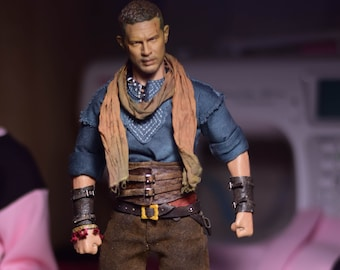 Full handmade outfit for action figure 1/6 - EXAMPLE!!! NOT SALE!