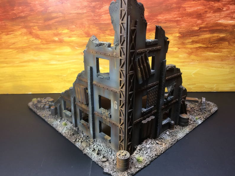Multi Story Building : 28mm Wargame Terrain & Scenery