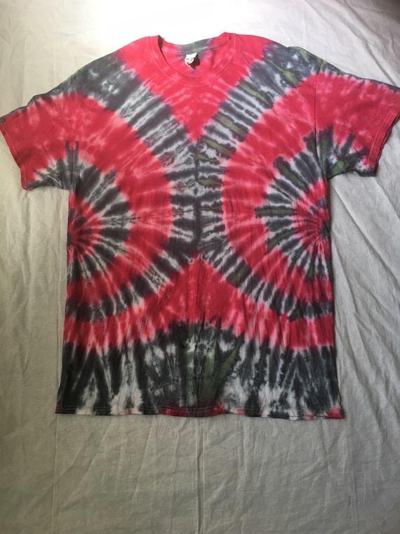 2f6e23dc In stock Ready to ship Tie dye shirt XL | Etsy