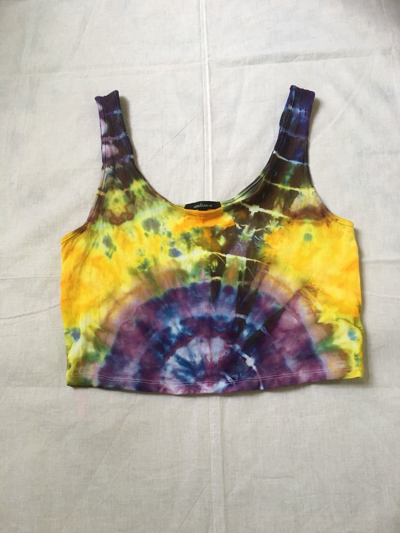 8b364988 In stock Ready to ship Tie dye crop top large | Etsy