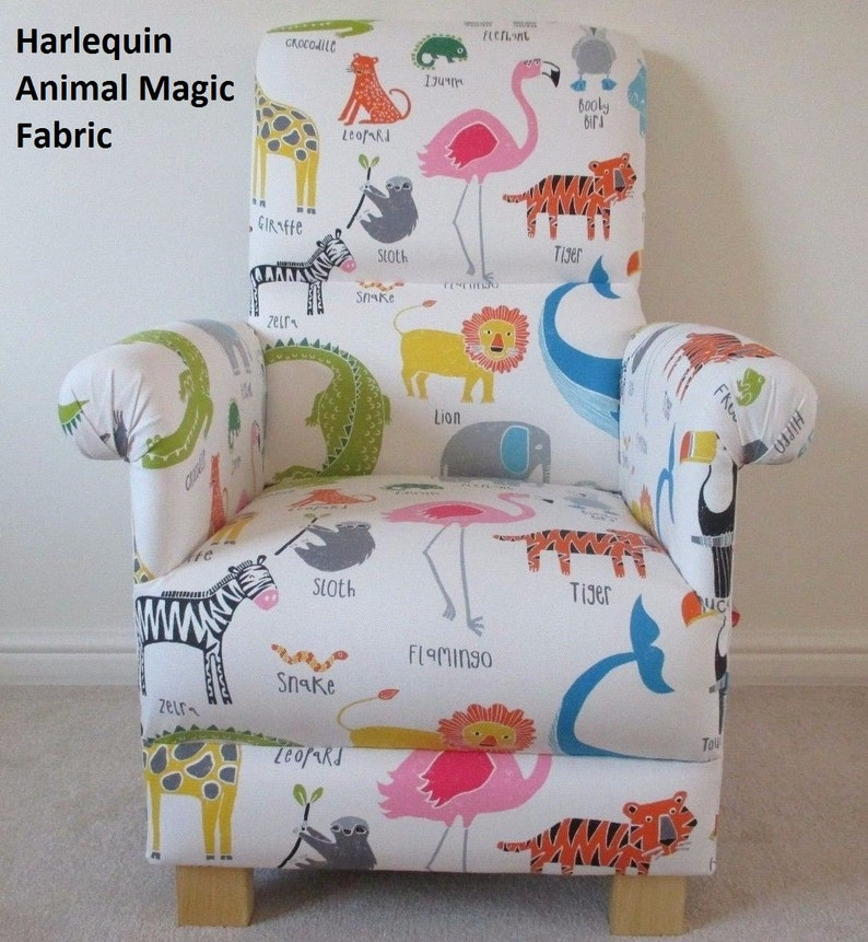 Chairs For Mum Buy Cheap Prestigious Animals Alphabet Fabric Adult Chair Armchair Nursery Bedroom Tigers