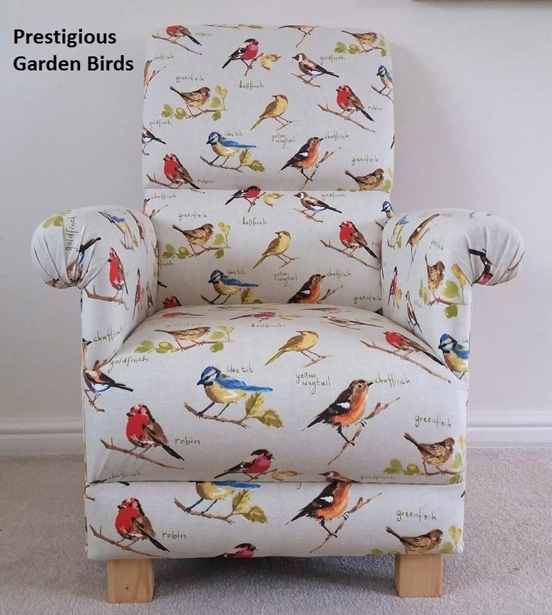Buy Cheap Prestigious Animals Alphabet Fabric Adult Chair Armchair Nursery Bedroom Tigers Sofas, Armchairs & Suites