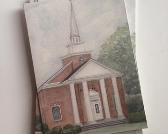 Oglethorpe First Baptist Church Notecards (set of 4)