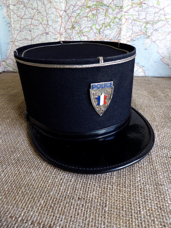 29258175 Police Baseball Cap Colours - Parchment'N'Lead