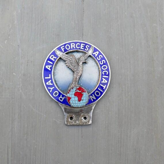 Vintage Car Grille or Scooter Badge Alabama Original