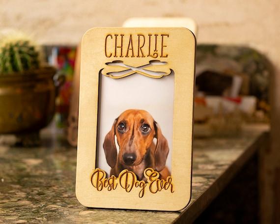 Dog Frame Custom pet frame dog photo frame gifts for dog owner dog lovers gift Pet frame personalized dog frame