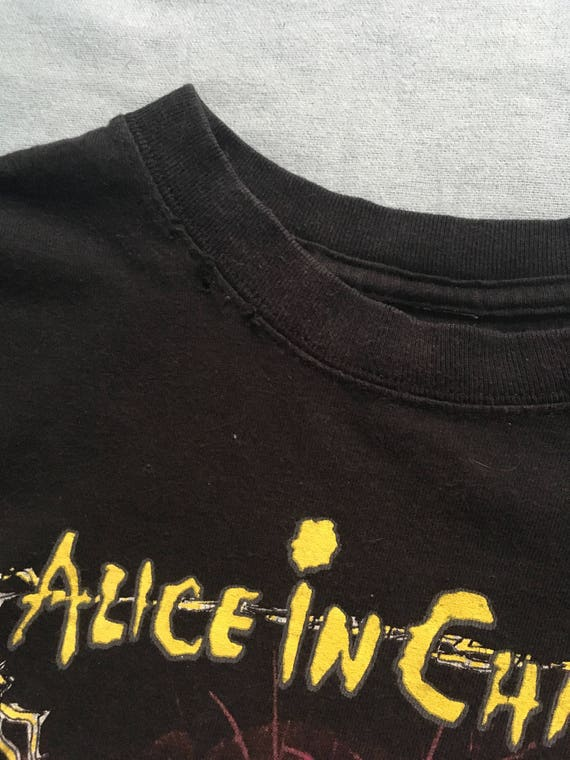 Alice in Chains Vintage shirt small. 90's grunge,… - image 5