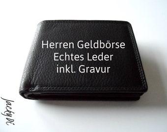 ab3e80b7de297 Personalizable men s real leather purse