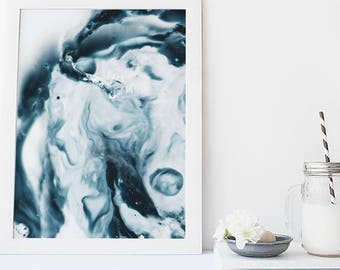 Marble wall art, watercolor art print, modern poster, marbled print, wall hanging, home wall decor, apartment wall art, poster, painting