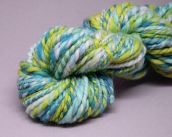 Handspun yarn   MERMAID   58g   merino, angelina