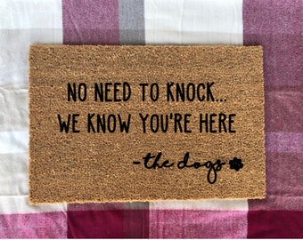 No Need To Knock Etsy
