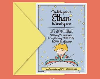 Little prince invite Etsy