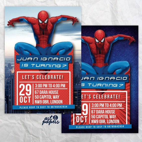 picture regarding Printable Spiderman Invitations named Spiderman Printable Invitation, Spiderman Birthday Celebration, Spiderman, Spiderman Printable, Spiderman Card, Spiderman Invite Social gathering, Personalized
