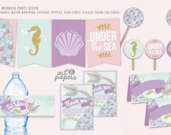 Mermaid Party Bundle!