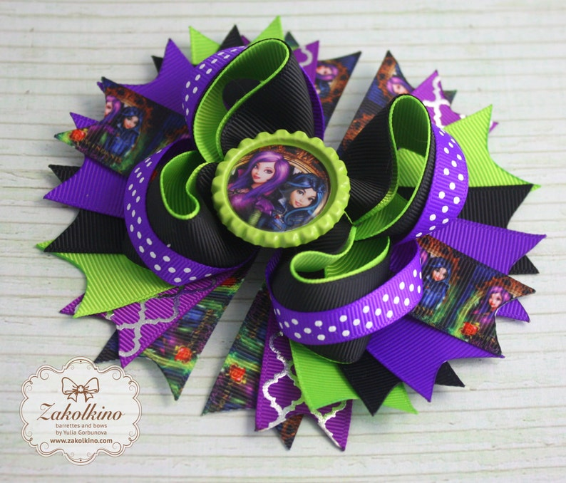 Disney Descendants Hair Bow Girl's Accessories Hair Accessories
