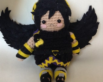 Crochet Dark Pit From Kid Icarus Uprising And Super Smash Bros