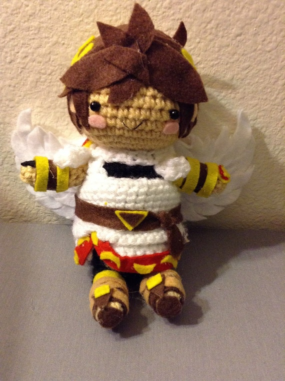 Crochet Pit From Kid Icarus Uprising And Super Smash Bros