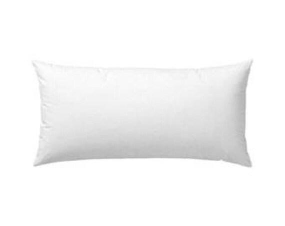 100 Down 14x22 Pillow Insert Pillow Form Etsy