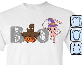 363ace7cf PumpkaBOO & Mew T-shirt, Tank Top, Long Sleeve or Infant Bodysuit
