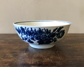 Worcester Blue And White Porcelain Bowl, First Period, English c. 1770