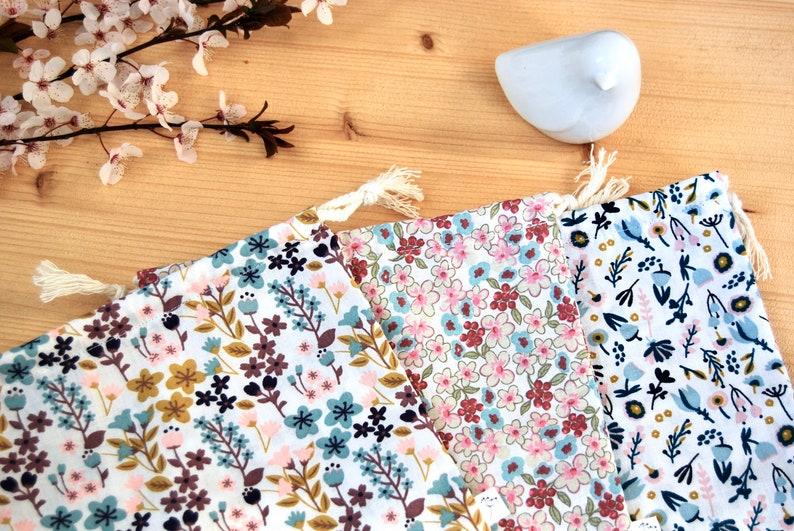 Bulk bag / Fabric pooch / Cotton flowered spirit liberty image 0
