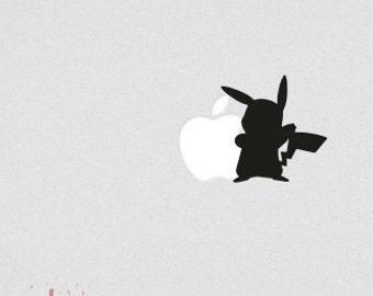 Pikachu Macbook Decal Pokemon Macbook Decal Macbook Sticker Pikachu Macbook Decal Pokemon Macbook Sticker Gengar Vinyl Gengar Decal Macbook