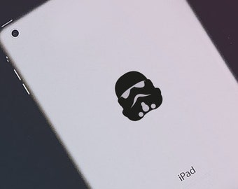 Stormtrooper iPad Decal Star Wars iPad Decal Sticker Darth Vader Macbook Decal Sticker Stormtrooper Macbook Pro Decal iPad Mini iPad Air