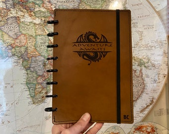 Rook & Raven Leather Campaign Diary and Campaign Planner Cover