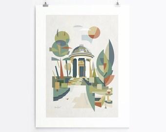 Jephson Memorial (Art Print, Unframed)