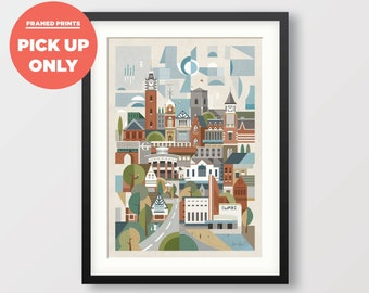 Sutton Coldfield (20mm Black or White Frame)