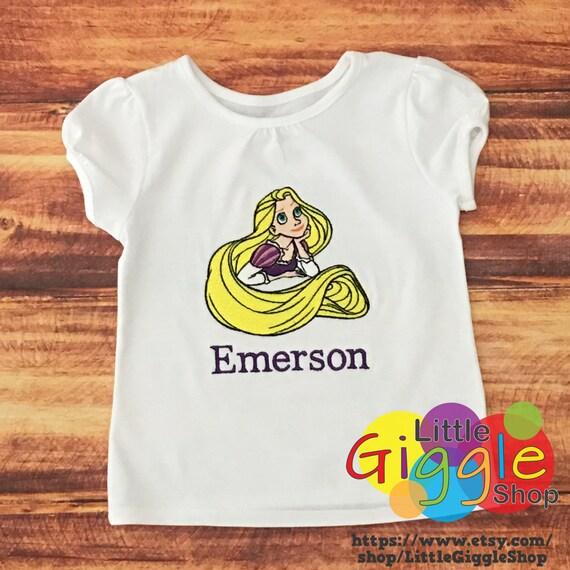 Rapunzel Birthday Shirt Princess Tangled