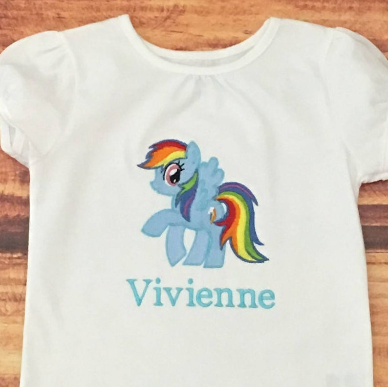 Rainbow Dash Birthday Shirt My Little Pony