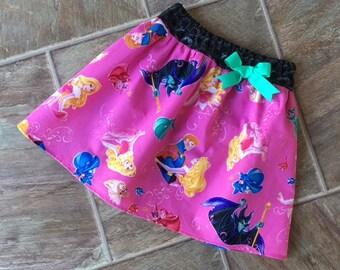 Sleeping Beauty, Sleeping Beauty Skirt, Sleeping Beauty Party, Pink Princess Skirt, Disney Princess, Aurora Skirt, Princess Skirt, Handmade