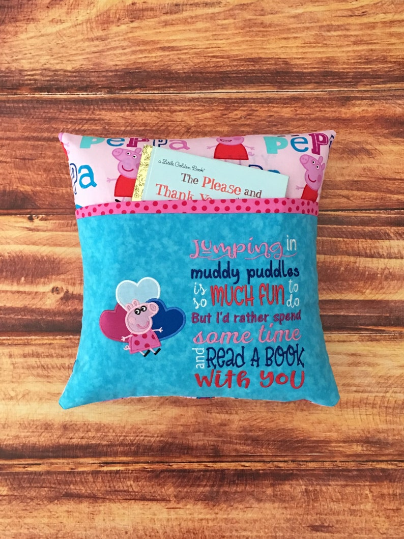 Peppa Pig Pillow Birthday Gift PERSONALIZED