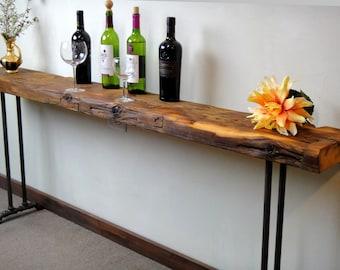 Long Sofa Table Etsy
