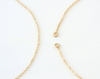 Replacement chains in dainty chain or large cable chain