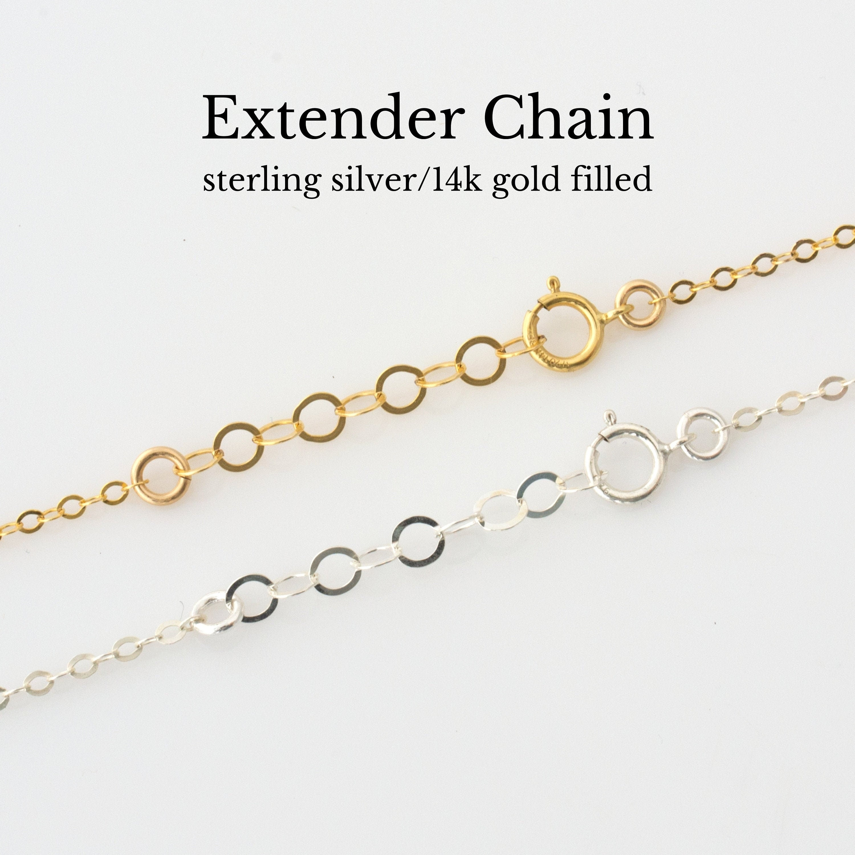 Collarbone Necklace Collarbone Chain Super Slim Chain Silver Spring Clasp Closure 925 Sterling Silver Chain Women Gift For Her