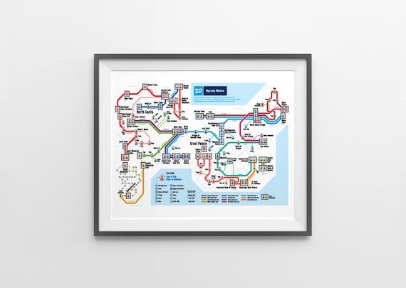 Zelda 2: The Adventure of Link NES Map Series   Etsy