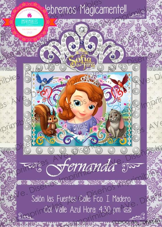 2 Feuilles Sophia the first Princesse Papier D/'emballage cadeau papier cadeau fille Fille